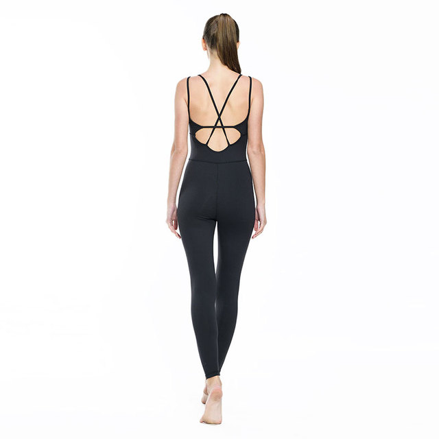 Yoga Jumpsuit Gym Running Sports Suit Lady Tight Clothing Breathable Quick Dry Sportswear Sets Patchwork Tracksuit 4