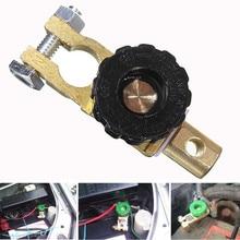 Клеммы автомобильного аккумулятора, соединитель, выключатель, отключение, запчасти для автомобилей, грузовиков, универсальный аккумулятор, клеммное соединение 3,0