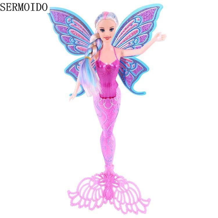 Swimming Mermaid Doll Toys For Girls Magic Mermaid Dolls Fashion Ariel Beautiful Doll Lovely Birthday Christmas GIFTS D15