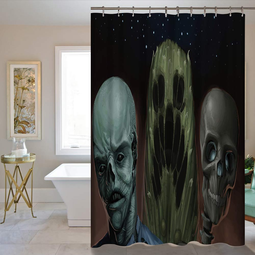 Skull Bedroom Curtains Popular Galaxy Curtains Buy Cheap Galaxy Curtains Lots From China