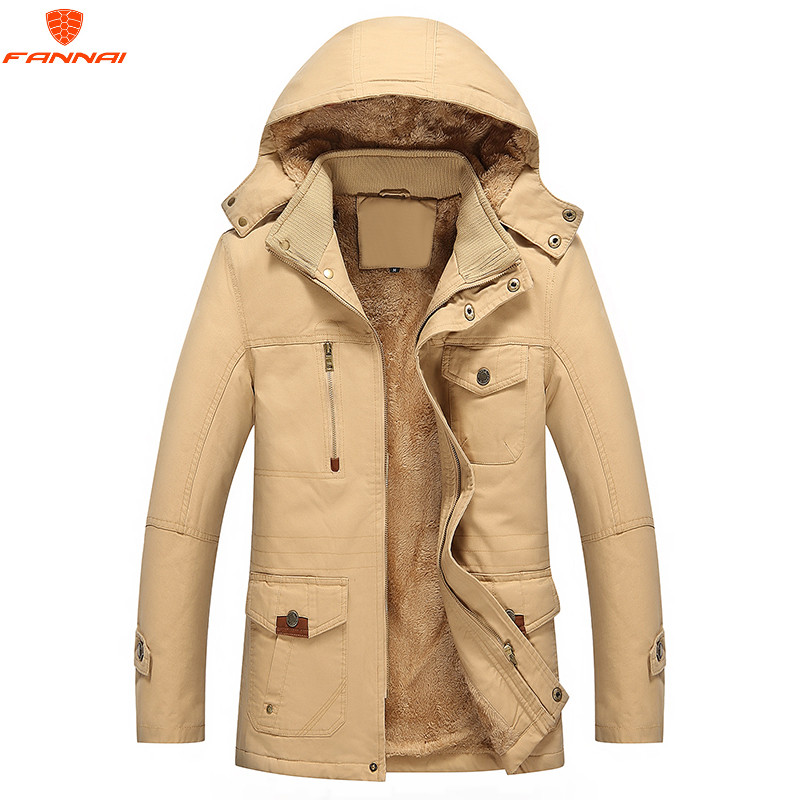 Men Winter Jacket 2018 New Fashion Warm Man Jacket and Coat Windproof   Parkas   casaco winter jacket for men Cotton coat