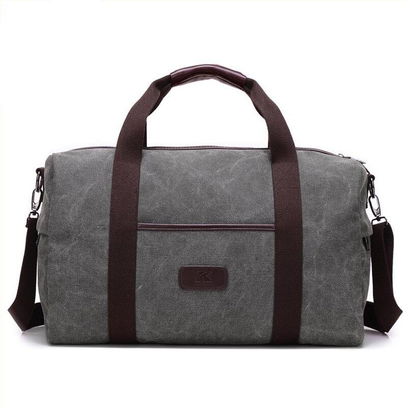 2019 hommes voyage fourre-tout sacs grande capacité femme femmes bagages voyage Duffle sacs mâle toile grand voyage sac à main pliant voyage sac