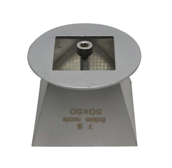 50mm x 50mm Fondo boquilla Bga boquilla de aire caliente para Honton Zhuomao/SCOTLE-IR360 SCOTLE-HR6000 SCOTLE-HR460 SCOTLE-HR460C estación