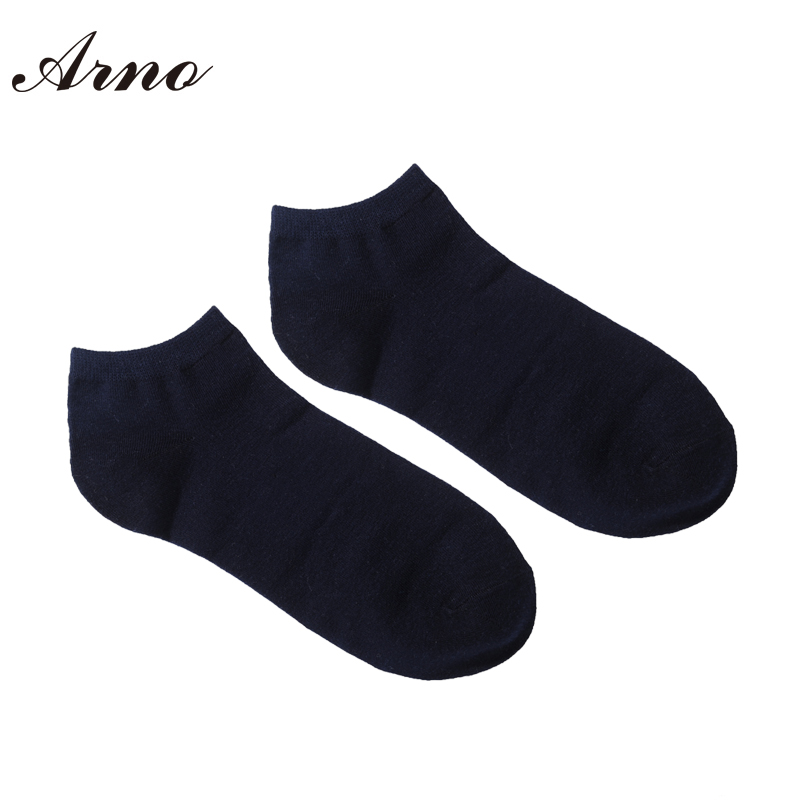 e86cb1ebc Arno Men Solid Basic Ankle Socks Cotton Plain Socks For Men Soft Calcetines  Hombre LW5005 5-in Men's Socks from Underwear & Sleepwears on  Aliexpress.com ...