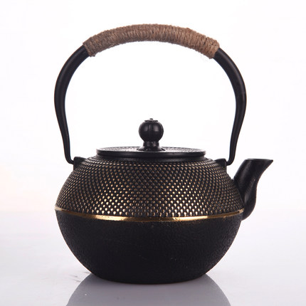 Old Iron Kettle Traditional Gong Fu Teapot