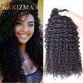 Brazillian Kinky Curly 3 Pcs Grade 10A Brazilian Virgin Hair Weave Bundles Unprocessed Virgin Brazilian KinkyCurly Virgin Hair