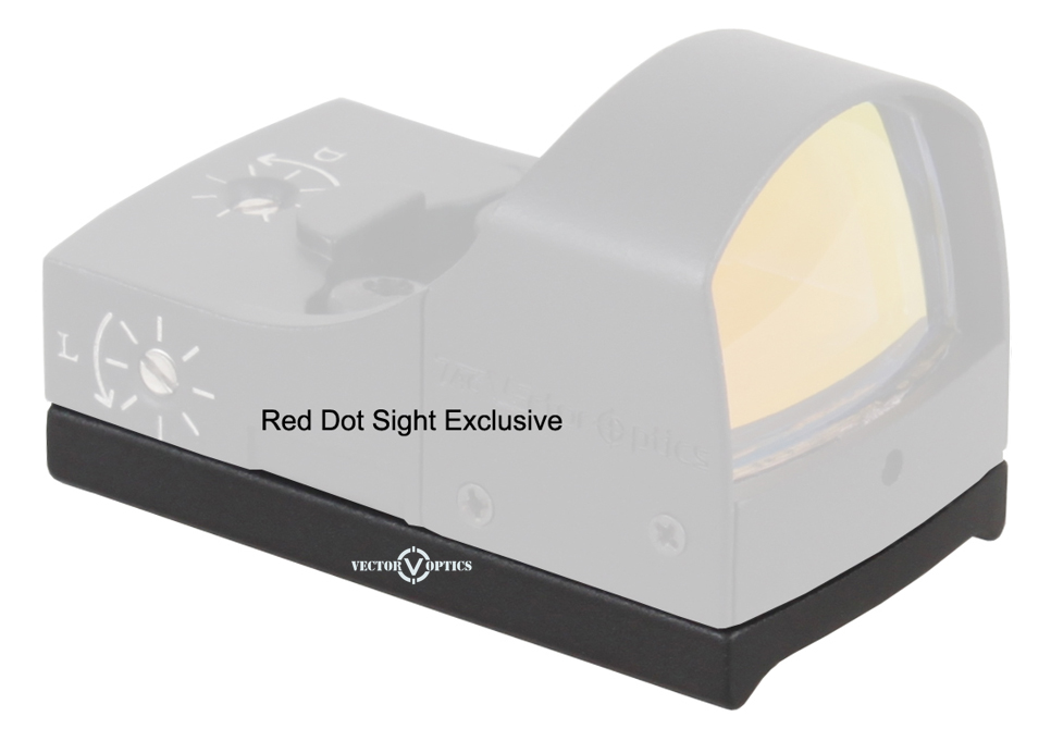 Vector Optics Sphinx Spirit Red Dot Sight Pistol Rear Mount For GLOCK 17 19 SIG SAUER BERETTA Springfield XD S&W M&P HK USP 1911 hk audio pr o 15 xd