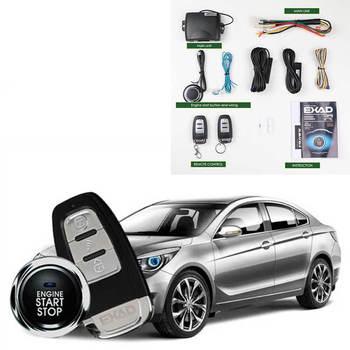 Alarma de coche sistema de entrada sin llave boton de arranque y parada sheriff Seguridad automotriz magicar teléfono móvil de control remoto sistema de alarma para coche MP913