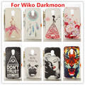 New Wiko Darkmoon Case Luxury Crystal Diamond 3D Bling Hard Plastic Cover Case  For Wiko Darkmoon Cell Phone Case