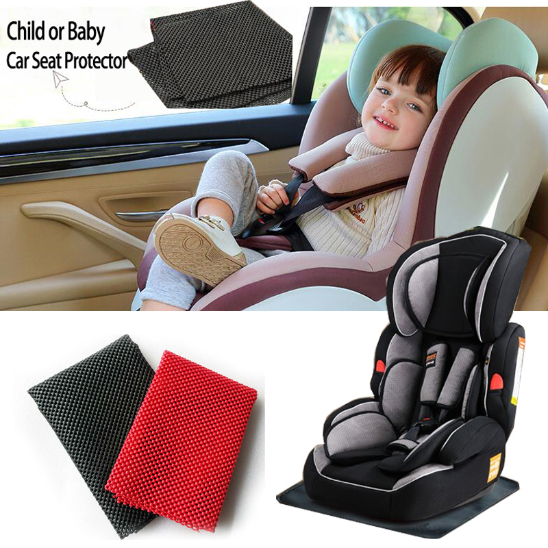 Car Seat Protector Child Or Baby Cover Easy Clean Safety Anti Slip Universal Black Pat