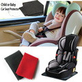 Free Shipping!! Car Seat Protector Child or baby car seat cover Easy Clean Seat Protector Safety Anti Slip Universal Black Pat