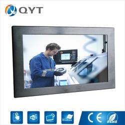 """12 """"промышленный все в одном настольных ПК резистивный сенсорный широкий экран Разрешение 1280X800 4 ГБ ddr3 32 г ssd компьютер с i5 1,8 ГГц"""