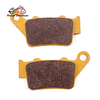 Motorcycle Rear Caliper Brake Pads For HONDA CB NX 500 FX SLR 650 Pantera 600 For KTM Duke 125/200/390 690 Duke/SM/SMC 97 13 #e image
