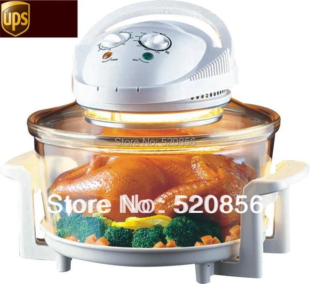 Eléctrico Halógeno Cocina Horno Volante Para Cocinar Pollo Procesador De  Alimentos Máquina De Electrodomésticos Para El