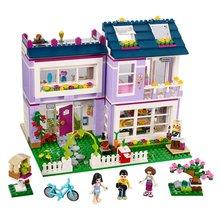 Бела 10541 Друзья серии дом Эммы здания Конструкторы Classic для девочки; дети модель Игрушки Marvel Совместимость с Lego