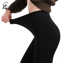 CHLEISURE XS-2XL Warm Leggings Women High Waist Winter Velvet Legging Female Solid Large Size Autumn Leggings 8 Colors