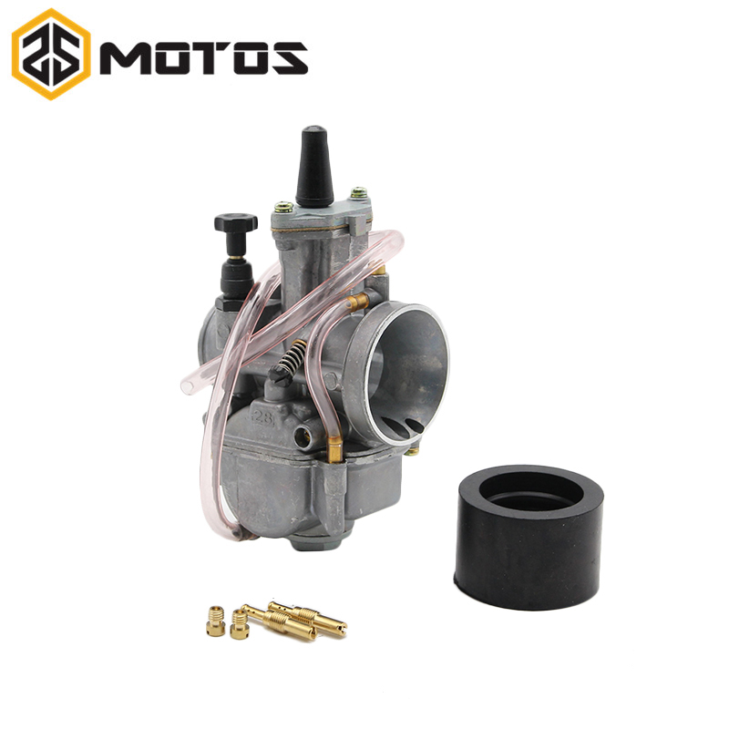 ZS MOTOS Motorcycle 4 stroke 24 26 28 30 32 34 mm KOSO ZSDTRP KEIHIN OKO Carburetor With Power Jet Fit Race Scooter ATV UTV