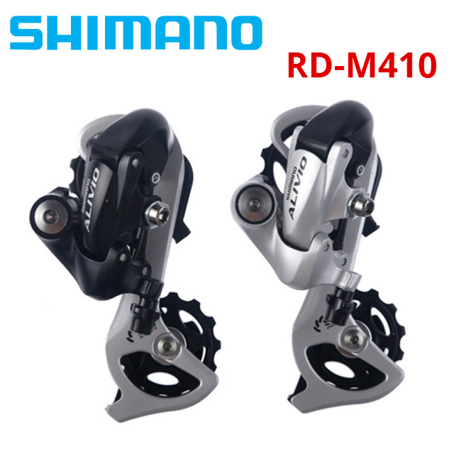Sports & Entertainment Systematic Alivio Rd-m410 Shimano Bike Rear Derailleur 7s 8s 7 8 Speed Mtb Bicycle Rear Derailleurs With Sis System Superior Than M310 In Pain