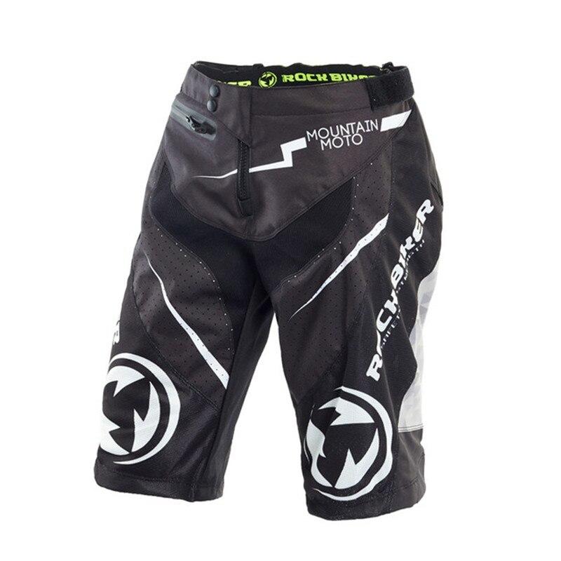 Pantalon moto motard ROCK vtt DH MX GP BMX AIR vtt Motocross tout-terrain court VTT Sport de Motocross été Shorts de plage