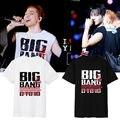 KPOP Bigbang camiseta Touareg Edición camiseta camiseta estilo concierto GD TOP Taeyang DAESUNG SEUNGRI