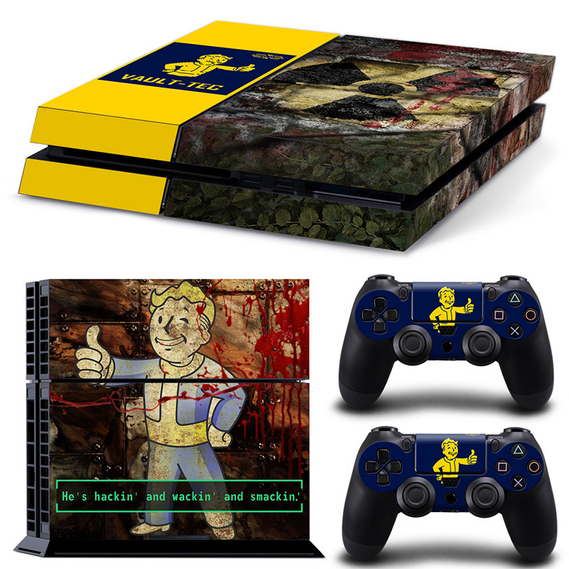 Profession Games Accessories Decal Cover For Sony Playstation 4 Console Controllers PS4 Skin Sticker