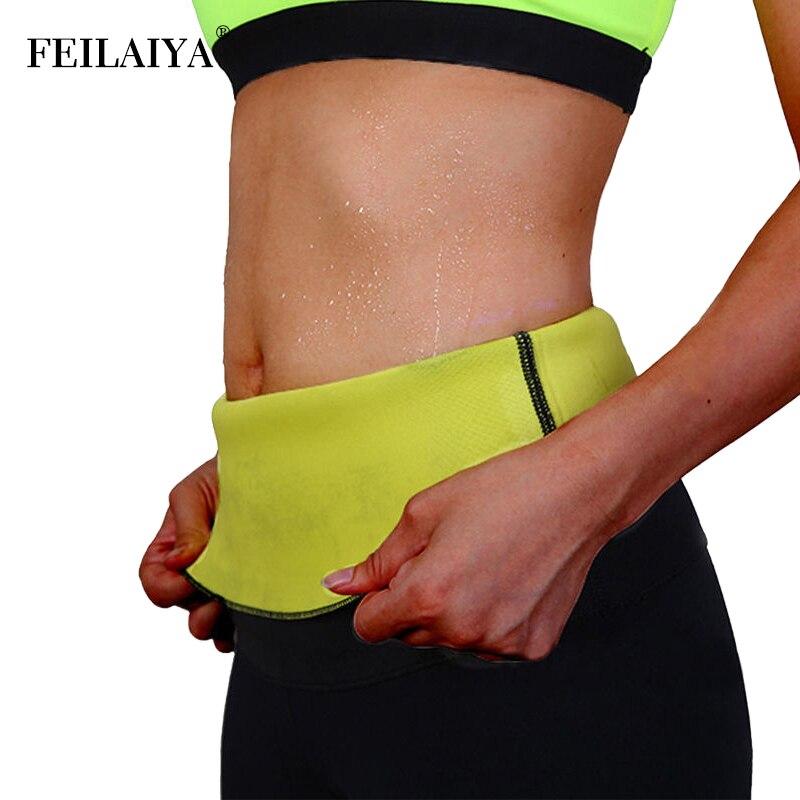 Women Plus Size Neoprene Waist Trainer Tummy Slimming Belt Sheath Body Shaper Modeling Strap Weight Loss Corset Sweat Shapewear