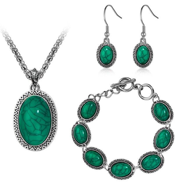 MISANANRYNE Jewelry Set...