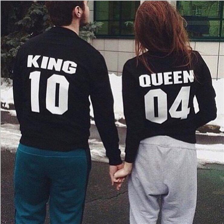 King 10 Queen 04 Hoodies Sweatshirts EuropeTops 2019 Women Casual Kawaii Harajuku Kpop Sweat Punk For Girls Clothing Korean
