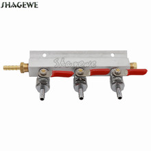все цены на Home Brewing 3 way Co2 Air Gas Manifold Distribution 1/4