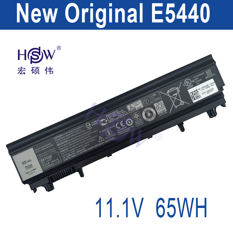 HSW original battery 11.1V 65WH For Dell 312-1351 451-BBID 451-BBIE 451-BBIF 3K7J7 970V9 9TJ2J N5YH9 TU211 VV0NF bateria akku 11 1v 90wh original battery for dell xps15 xps14 xps17 l702x l502x j70w7 r795x genuine xps14 xps15 high capacity battery 9 cell