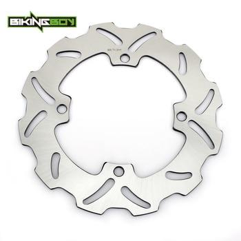 BIKINGBOY For SUZUKI RMZ250 2007-2018 K7-L8 RMZ450 2005-2018 K5-L8 RMX RM-X 450 Z 2005-2017 K5-L7 Rear Brake Disc Disk Rotor