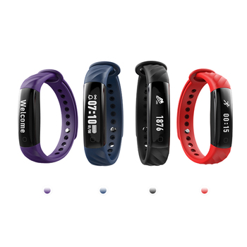DHL Smart Band Heart Rate Monitor Sports Wristband Watches Fitness Bracelet Tracker Waterproof IP67 Watch Pedometer OLED Display