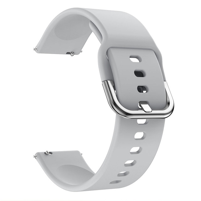 20mm Watch strap for Samsung Galaxy Watch Active 2 40/44mm Sport silicone Smart Wristbands for Samsung Gear S2 Classic 732 strap 1