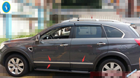 Accessories For Chevrolet Holden Captiva 2012 2015 Stainless Steel Door Body Molding Protector Cover Trim 4