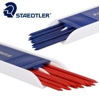 Staedlter 그래픽 기계 연필 리드 리필 블루 또는 레드 (1 튜브, 12 개) 2 미리메터 기술 디자인 학교 및 사무실 공급