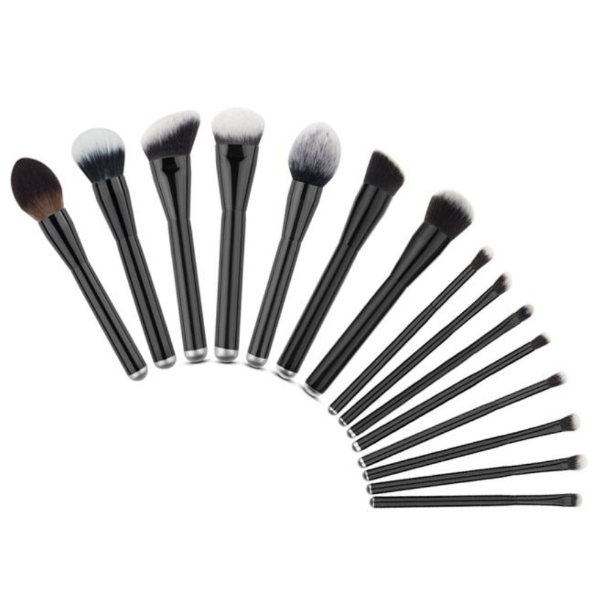 15PCS  Make Up Foundation Eyebrow Eyeliner Blush Cosmetic Concealer Brushes тушь make up factory make up factory ma120lwhdr04
