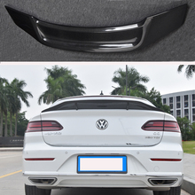 R Style Carbon fiber rear roof spoiler lip wings for Volkswagen VW Passat CC Sandard 2019