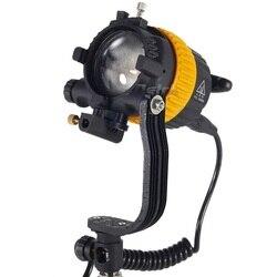 CRI 5500/3200K Portable 50W LED Spotlight Continuous Light+V-Lock V-mount For Video Studio Photography Lighting CD15