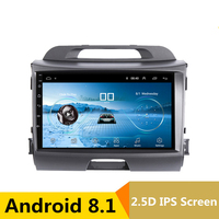 9 Android Car DVD Multimedia Player GPS For KIA Sportage R 2011 2012 2013 2015 audio car radio stereo navigator bluetooth wifi
