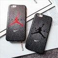НБА Телефон Случае НБА Горячая Звезда Баскетбола Жесткий ТПУ Телефон задняя Крышка Леброн Джеймс и Майкл Джордан Для iPhone6 6 s 6 плюс