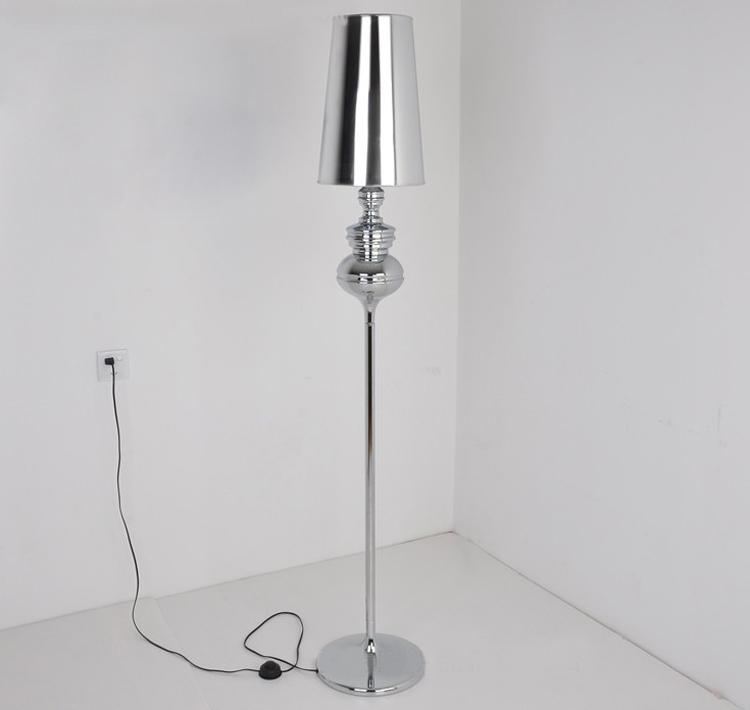 Modern brief floor lamp White /Black /Golden /Silver bedside lamp Living room