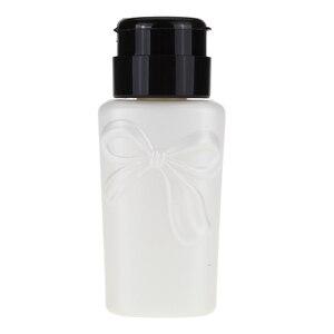 Image 5 - Monja 230ml לחץ בקבוק UV ג ל להסיר נוזל אלכוהול חיטוי אחסון מתקן ריק בקבוק מניקור כלי