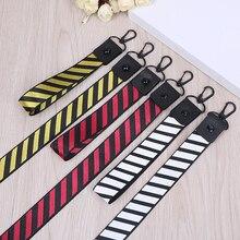 Полосатый Узор, Модный американский японский уличный бренд, Полоска, ремешок на запястье, ремешок на шею для ключей, ID карты, телефонные ремни для iPhone, висячая веревка