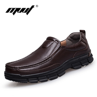 Fashion Quality Handmade Men S Genuine Leather Oxfords Shoes Men Dress Shoes Casual Loafers Shoes
