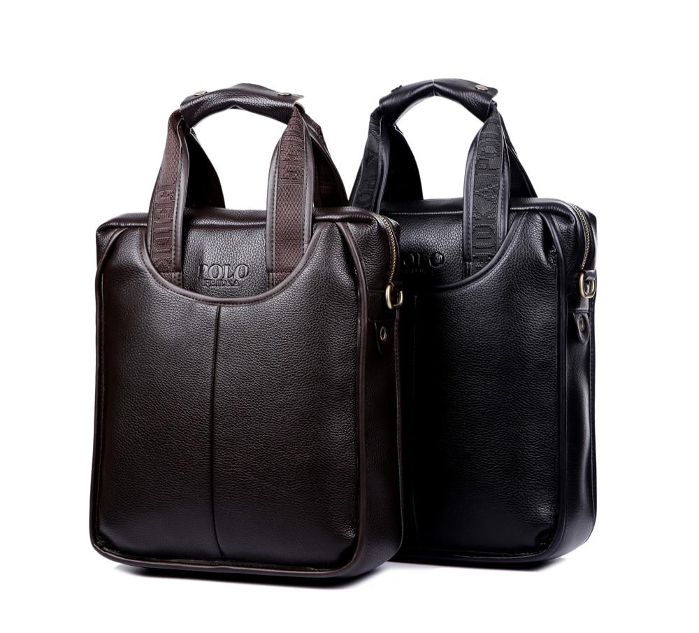 New Single Shoulder Bag Luxury Cattle Split Leather Message Bag Fashion Men Handbags Male Casual Business Popular Briefcases