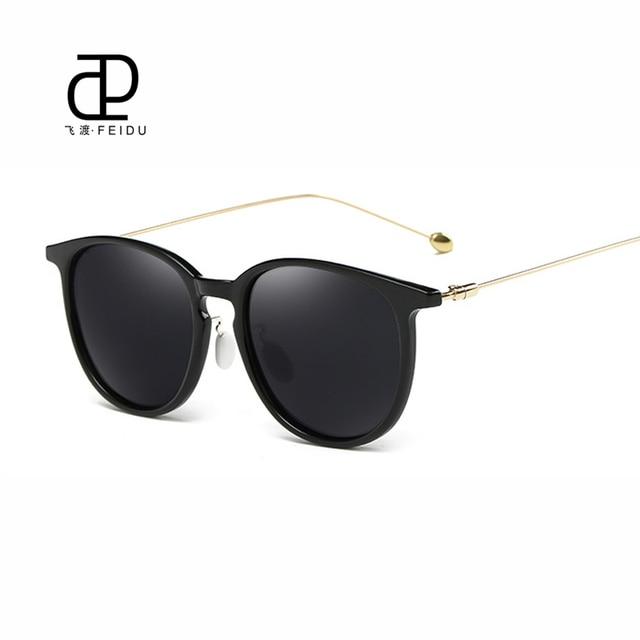 Feidu new fashion cat eye óculos de sol das mulheres marca de luxo retro  revestimento polarizada cca020b3ed
