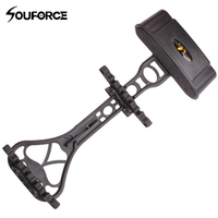 Portable Camouflage Quiver For 6 Archery Hunting Arrows Compound Bow Holder Outdoor Camping Shooting Accessory Arrow