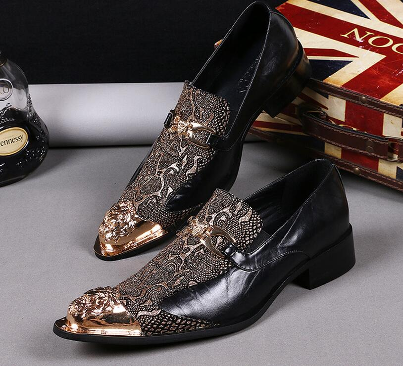 Italian Patent Leather Shoes