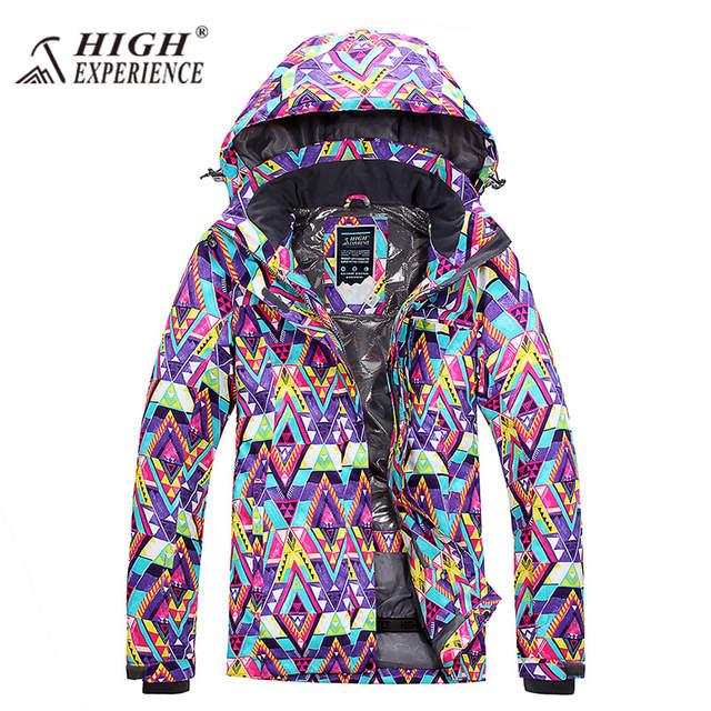 3e1f033d7 Online Shop 2018 winter pant high experience jacket warm ski suit ...