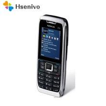 100% Оригинальный разблокирована Nokia E51 Мобильные телефоны с Bluetooth JAVA WI-FI Разблокировать сотовый телефон Восстановленное Бесплатная доставка